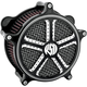 Mission Contrast Cut Venturi Air Cleaner - 0206-2013-BM