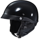Black CL-Ironroad Half Helmet