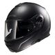 Matte Black Strobe FF325 Modular Helmet with Sunshield