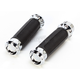 Chrome Overdrive Grips - 0063-2081-CH