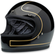 Gloss Black/Gold Tracker Gringo Helmet