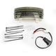Tri-Bar Dual Intensity LED Fender Tip w/Smoke Lens - GEN-TRI-1-SMOKE