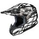 Black/Silver/Silver Tempest RPHA-X Helmet