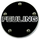 Black Contrast Cut Feuling Logo Point Cover - 9126