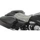Black Faux Python Low-Profile Solo Seat - 0801-0874