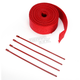 Red 2in. x 25ft. Exhaust Pipe Wrap W/ Red Tie Wraps - CPP/9068R