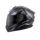 Black/Silver EXO-GT920 Satellite Modular Helmet