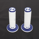 White/Blue Cam Soft/Hard Compound Grips - CD-103