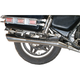 4-into-2 All-Chrome Slash-Down Exhaust System - 001-1084