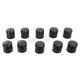 Black 3/8 in. Hex Bolt/Nut Covers - 2402-0161