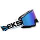 Black/Cyan GOX Limited-X Goggles - 067-10735