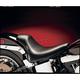 11 in. Wide Smooth Solo Bullet Style w/Biker Gel Sillouette Series - LGN-280
