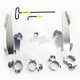 No-Tool Trigger-Lock Hardware Kits for Batwing Fairing - MEK1999