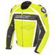 Radio Active Yellow Speedmaster Leather Jacket