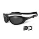 Matte Black XL-1 Sunglasses w/Gray/Clear Lens - 291
