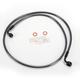 Black Pearl Designer Series 90 Degree Top Angle Custom Single-Disc Front Brake Line - 46250SW