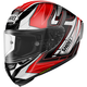 Red/Black/White X-Fourteen Asail TC-2 Helmet