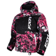 Youth Fuchsia/White Blast Squadron Jacket