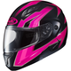 Neon Pink/Black CL-Max 2 MC-8 Ridge Modular Helmet