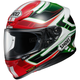 Red/White/Green RF-1200 Vakyrie TC-4 Helmet