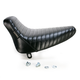 Pleated Bare Bones Solo Seat - LN-007 PT