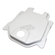 White Fiberglass Gas Tank Cover - 0200-0005
