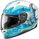 Teal/Blue/White FG-17 MC-2 Flutura Helmet