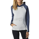 Women's Gray/Navy Persuade Pullover Hoody