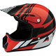 Youth Gloss Red Roost SE Helmet