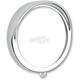 Chrome 5 3/4 Headlight Ring - 2001-0552