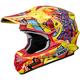 Yellow/Red VFX-W Barcia TC-3 Helmet