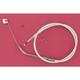 Custom Sterling Chromite II Designer Series Alternative Length Braided Idle Cables for Custom Handlebars - 34366