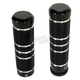 Night Series Knurled Grooved Grips - GR101-KGN