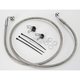 Front Extended Length Braided Stainless Steel Brake Line Kit +4 in. - 1741-2681