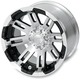 Front 14 in. x 7 in. Type 375 Wheel - 375147156BW4