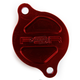 Red Magnetic Oil Filter Cover - 03-01982-24