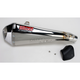 CS One Slip-On Muffler w/Polished Stainless Muffler Sleeve - 33509