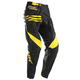 Black/Yellow Phase Strands Pants