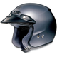 RJ Platinum-R Metallic Pearl Gray Helmet
