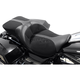 Black Leather TourIST 2-Up Air Seat - FA-DGE-0320