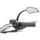 Black Right 5 Arc Mirror - RWD-50068RB
