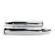 Chrome Eliminator 400 Slip-On Mufflers w/Black End Caps - 16706