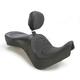 Mild Stitch Low-Profile Double-Bucket Seat w/Dual Backrest - 0810-1712