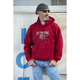 Antique Cherry Red Gravel Hoody
