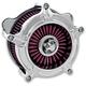 Chrome Turbine Air Cleaner - 0206-2037-CH
