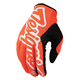 Fluorescent Orange/Black Pro Gloves