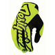 Fluorescent Yellow/Black Pro Gloves