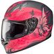 Pink/Black FG-17 MC-8F Flutura Helmet