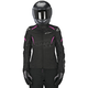 Womens Black/Pink Stella Gunner Waterproof Jacket