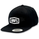 Black/White Corpo Snap Back Hat - 20015-001-01